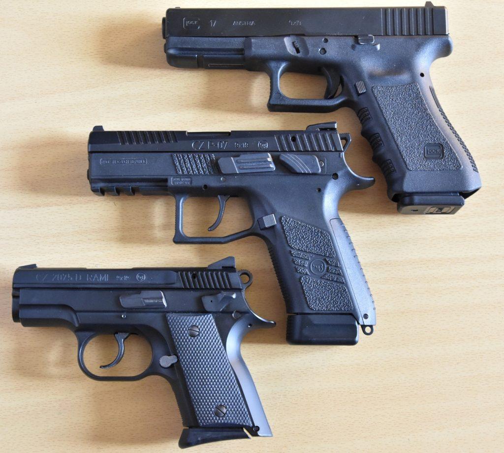 Polícia dostane namiesto pištolí CZ rakúsky Glock (úplne hore)