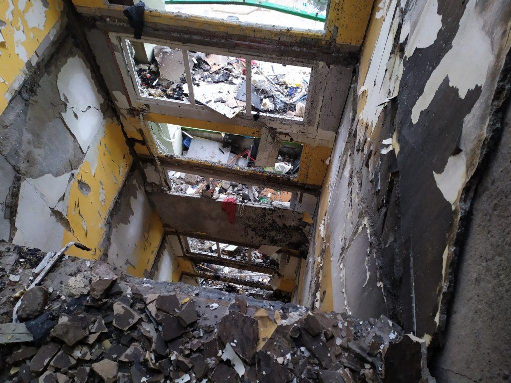 V týchto miestach bolo kedysi schodisko.
