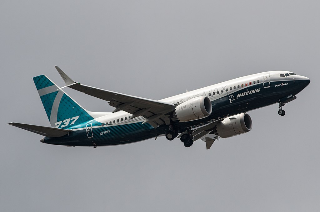 Boeing 737 MAX Zdroj: Twitter/ARGS_EVA