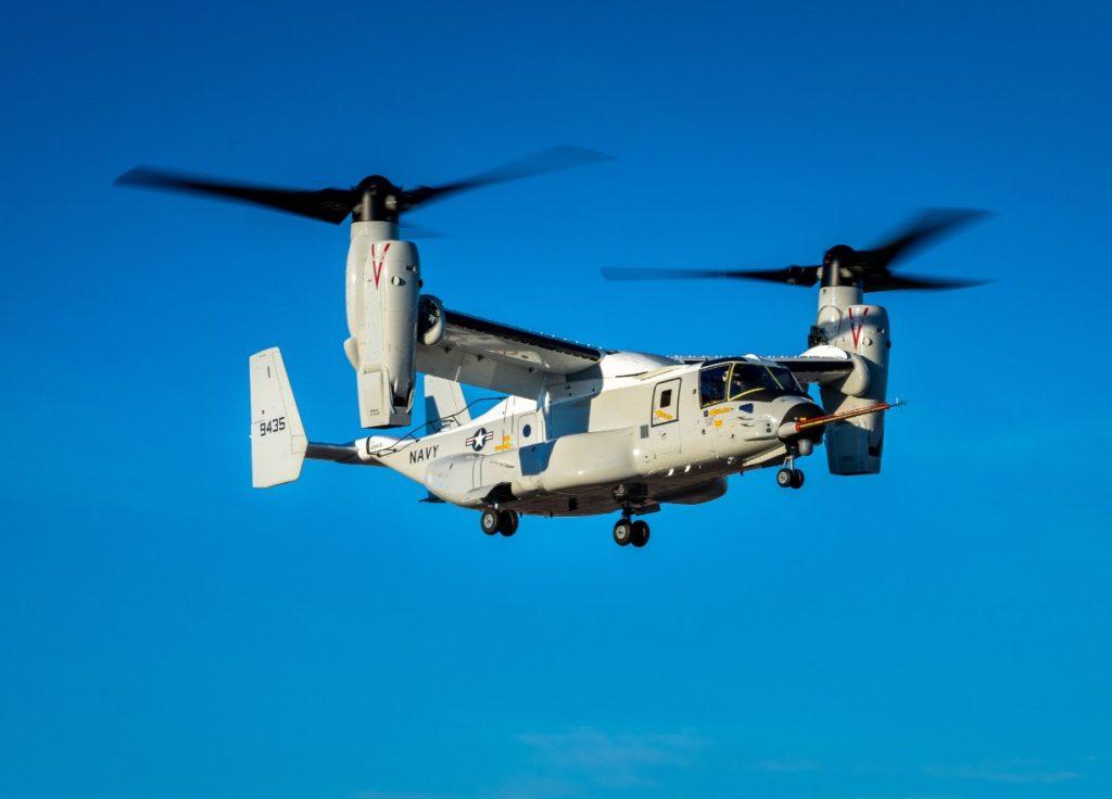 Konvertoplán s preklápajucími rotormi predviedol svoje schopnosti a putuje do letky Námorníctva Spojených štátov amerických, ktoré objednali 44 kusov.