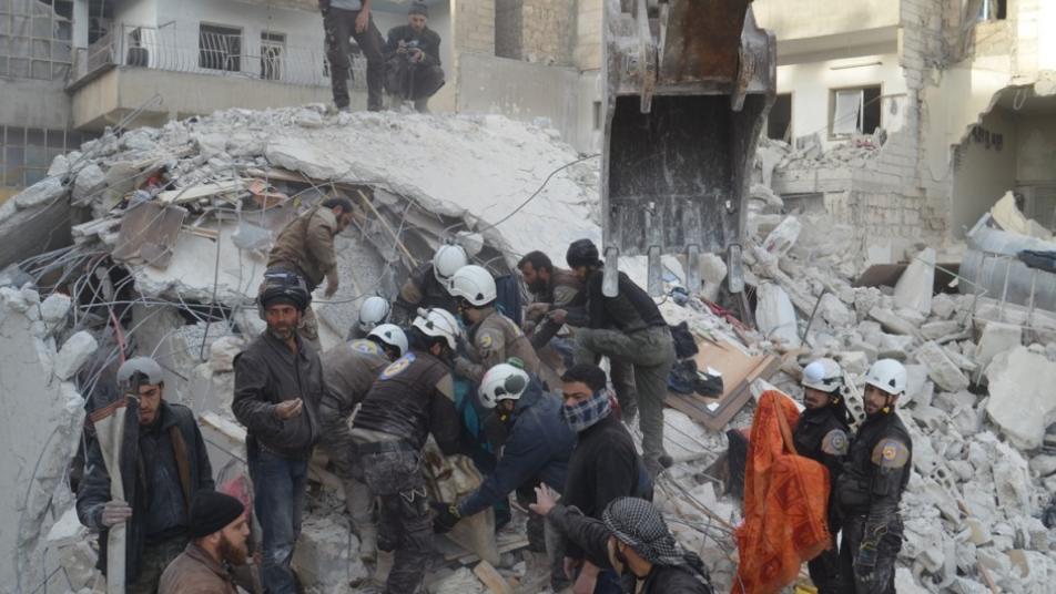 Ruské bombardovanie zasiahlo nemocnicu. Zdroj: Twitter/OrientNews