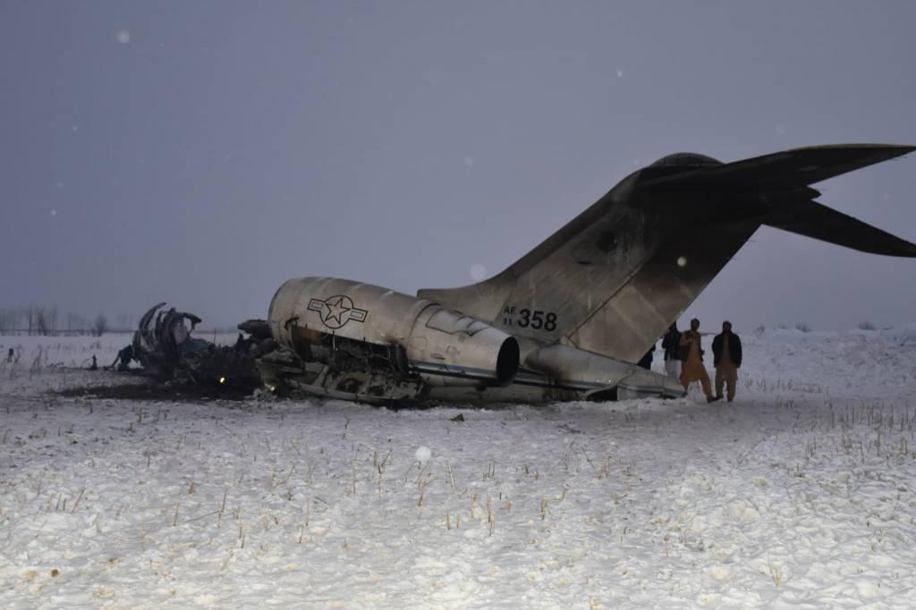 Letectvo USA priznalo, že sa v Afganistane zrútilo americké lietadlo