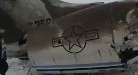 Zrútené lietadlo v Afganistane patrí americkej armáde