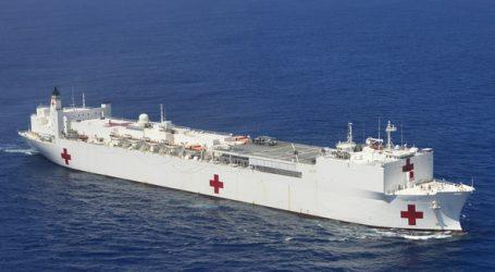 USA: New York dostane armádnu loď, ktorá by mala slúžiť ako nemocnica