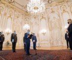 Prezidentka menovala a povýšila do generálskych hodností 8 príslušníkov OS SR